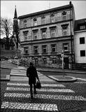 Mесто фотографирования, улица Катержинская-Новый Город-Прага-2