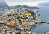 Норвегия. Олесунн.