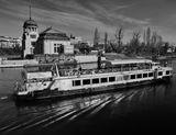 Mесто фотографирования, набережная Людвига Свободы-Новый Город-Прага-1