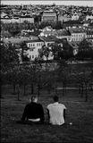 Mесто фотографирования, холм Петршин-Прага-1