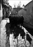 Mесто фотографирования, улица У казарм-Градчаны-Прага-