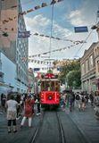 Визитная карточка бульвара Истикляль. Стамбул. 29.06.2019г.