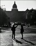 Mесто фотографирования, Вацлавская площадь-Новый город-Прага-1