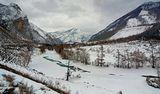 Алтай.Чуя.Неспокойный и снежный февраль.