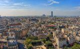 Париж с обзорной площадки Собора Парижской Богоматери Это было счастливое время, когда можно было путешествовать