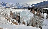 В ожидании наступления весны.Республика Алтай.