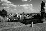 Mесто фотографирования, Замковая лестница-Градчаны-Прага-1
