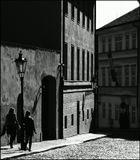 Mесто фотографирования, Лоретанская улица-Градчаны-Прага-1