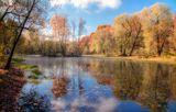 Осень, пруд, парк