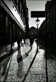 Mесто фотографирования,  Гавирская улица-Cтарый Город-Прага-1