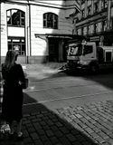 Mесто фотографирования, улица Йиндрижская-Новый город--Прага-1 И