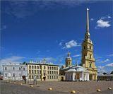 Православный собор в Санкт-Петербурге в Петропавловской крепости,  усыпальница русских императоров