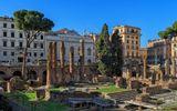 Курия Помпея была одним из нескольких мест для проведения собраний сената во времена древнего Рима. В курии Помпея в 44 г. до н. э., в результате заговора группы сенаторов был убит Юлий Цезарь.  Это привело к созданию второго триумвирата и последней вспышке гражданских войн.