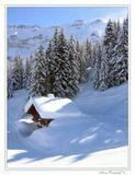 Тоска по недостатку снега в этом году = )Межев, Франция