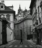 Mесто фотографирования,  Вальдштейнская улица-Мала Страна-Прага-1
