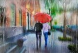 Пождем под дождём