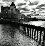 Mесто фотографирования, мостков Новотного-Cтарый Город-Прага-1
