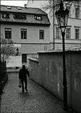 Mесто фотографирования, улочка В Стинадлах-Cтарый Город-Прага-1