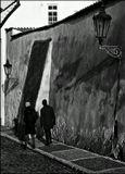 Mесто фотографирования, улица Чернинска-Градчаны-Прага-1