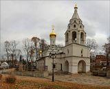Листопад в монастыре. Вот и осень - здравствуй! Спит в Донском монастыре Русское дворянство.