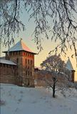 Великий Новгород, кремль. ВСЕХ КОЛЛЕГ ПО УВЛЕЧЕНИЮ ПОЗДРАВЛЯЮ С НАСТУПАЮЩИМ НОВЫМ ГОДОМ! УДАЧНЫХ ВАМ СНИМКОВ!