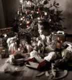 Условия съемки спонтанно новогодние :)