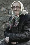 Граница Латвии и Литвы. Могила возле церкви. Бабуле 89 лет. 60 лет Она не фотографировалась. На могиле у младшей сестры. Осталась одна. Разрешила мне её с фотографировать.