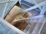 Лестница внутри колокольни Ярославского кремля. Июнь 2006 г.