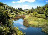 фотография снята в городе Верея, а лет 5 назад это была хоть небольшая, но быстрая речка.