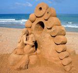 Ежегодный Международный конкурс песчаных скульптур. Хайфа - 2005 год.