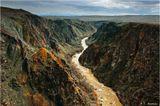 Река Чарын, 250 км на восток от Алма-Аты.