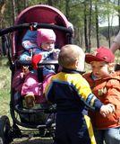 дети, мой Антошка, наш друг Степашка и Галюня.