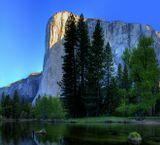 Двух рядный  панорамный кадр...Национальный Парк Йосимити США