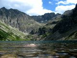 Польские Татры, озеро Charny Staw Gasienicowy
