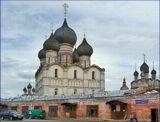 Ростов Великий. Вид из Города на Кремль. Реставрация.