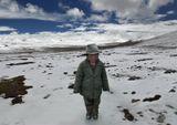 Перевал в Гималаях 5200 м. Тибет