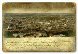 Совмещенное изображение старой открытки, современной фотографии и подложки(основание-фактура от Алены Чирко, за что отдельное спасибо)