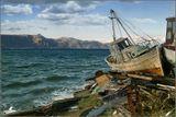 """Греция, о-в Корфу,г. Керкира, Ионическое море, """"портовое кладбище""""...Приятного просмотра..."""