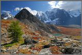 Окрестности Верхнешавлинского озера.Горный Алтай, август-сентябрь-2007, Шавла-Маашей. Приглашаю в горные фото-походы, подробности на http://pohodnik.info