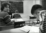 Учитель вышел из класса...:)Вчера мне разрешили присутствовать на уроке Математики...Физико-Математический Лицей при МИФИ