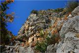 Некрополь, высеченный в скале. Мира (Турция).