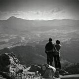 Случайное фото, вершина горы Хомяк (Вост. Карпаты)